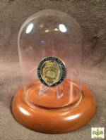 Challenge Coin Display Dome - Glass - 3