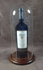 "Wine Display -  Glass Dome 5-1/2"" x 13""H"