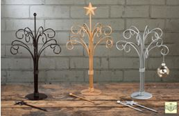 Ornament Trees - Twelve Arm Stands - Set of 2