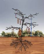 Ornament Tree - Wrought Iron Squiggly Small - Set of 2
