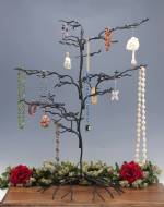 Ornament Tree - Wrought Iron Squiggly Large