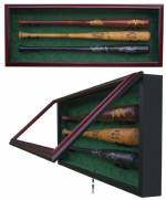 Display Cases - Baseball Bats - 2 to 16 Bats