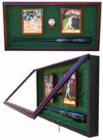 Display Cases - Baseball Bat - Ball and Photos