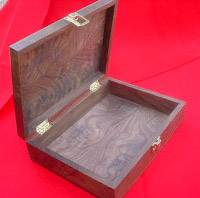 "Display Case - Solid Wood Presentation Box 9 1/2"" x 16"" x 3"""