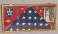 Flag Cases - Flag and Medal Case