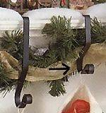 Christmas Stocking Hangers - Wrought Iron 5""