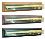 Baseball Bat Display Case - Wall Mounted