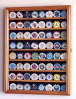 Collectibles Display Case - Casino Chip Eight Row