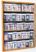 Display Case -  Sports Cards - 35 With UV Protection