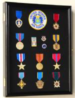 Display Case - Medals, Pins, or Patches - Medium