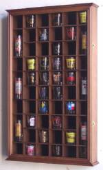 Shotglass Collector Case - 54 Shot Glass