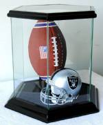 Sports Display Cases -  Basketball, Football, Soccer, Volleyball