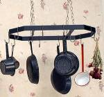 Pot & Pan Rack - Hanging Octagon with Hooks