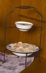 Pie or Plate Racks - Double Tier - Bowl and Plate & Plate Stands Tiered Dinner Plate Stands Pie Racks