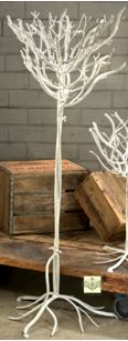 Natural Design Display Tree - White Finish 54""