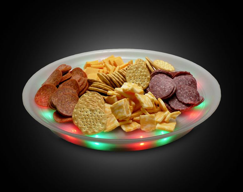 LED Lighted Serving Tray