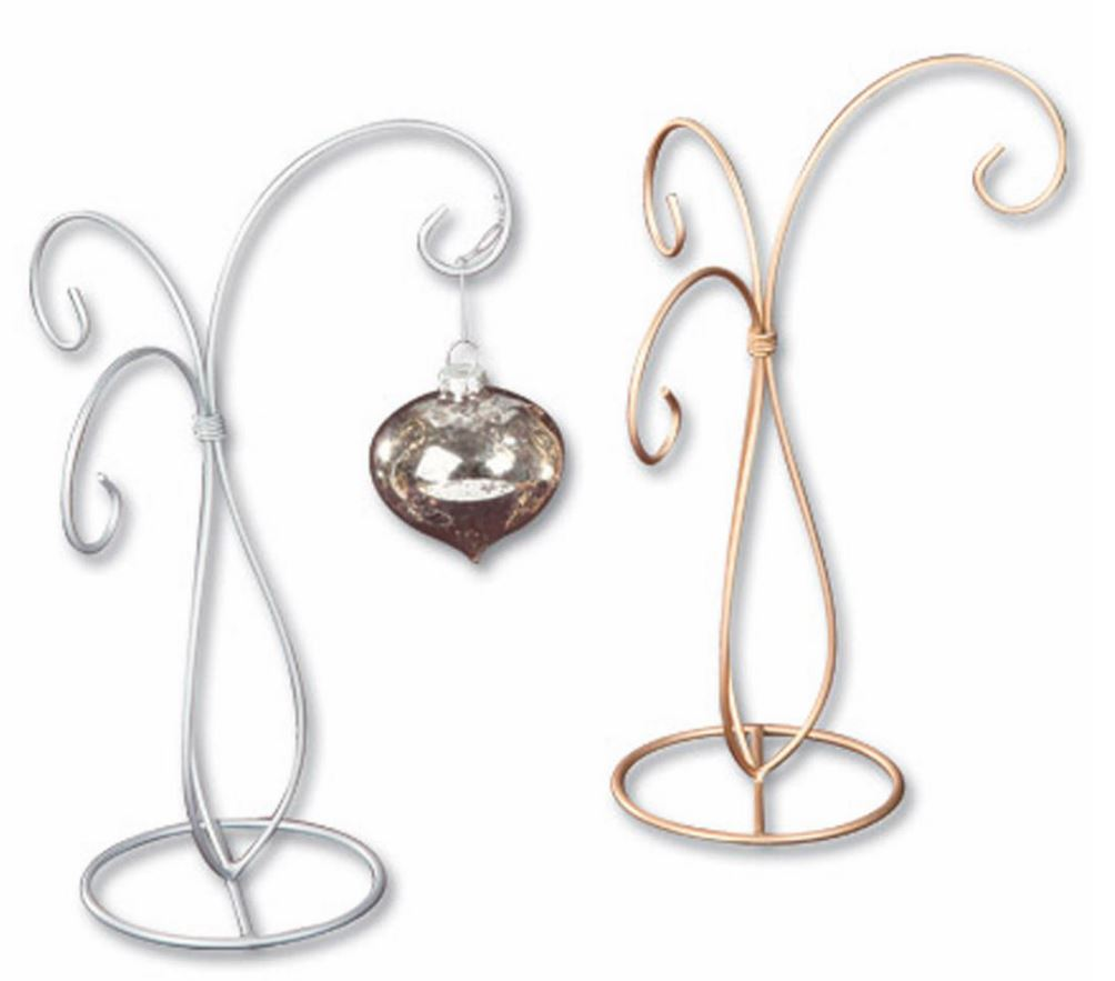 Christmas ornament holders - Ornament Stand Three Arm Display Set Of 4
