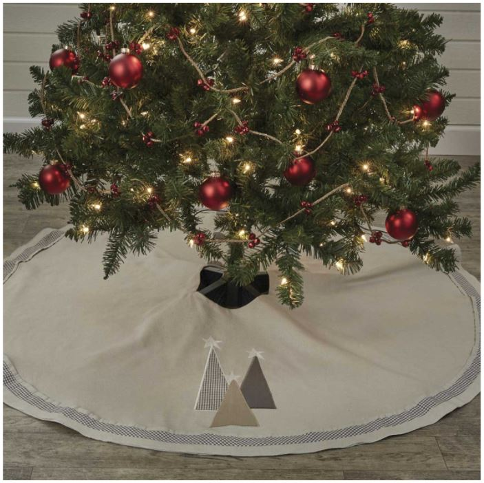 Tree Skirt - Three Trees 52""