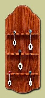 Spoon Racks -  18 Spoon Oak