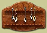Spoon Racks -  24 Spoon Oak