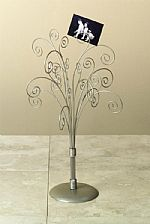 Photo Holders - Burnished Silver