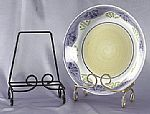 Wrought Iron Platter Stand