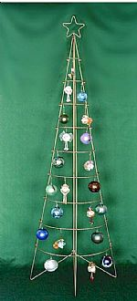 Ornament Trees - Wall Standing Ornament Tree   7'