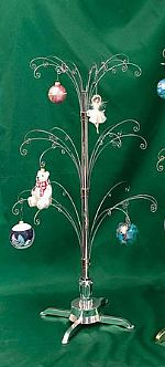 "Ornament Trees - Rotating Large - 39½""Curled Branch"