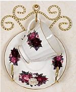 Tea Cup and Saucer Wall Racks
