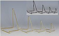 Plate Easels - Wire - Black Elegant Wire - custom set