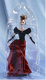 "Doll Displays - Vinyl Doll Covers 10 x 20"" - Set of 12"