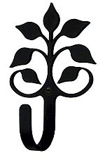 decorative hooks leaf fan - Decorative Picture Hangers