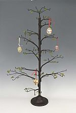 Ornament Trees Christmas Ornament Stand And Hooks