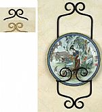 Plate Hangers - Wrought Iron Single