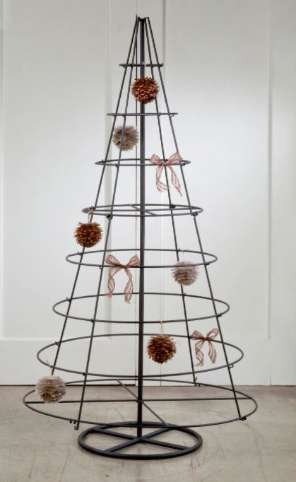 Ornament Tree - Large Metal Rotating Tree