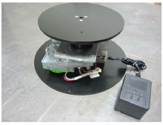 Motorized Turntable - 200 Pound Capacity - Skeleton