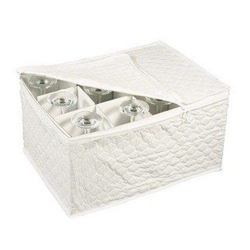 Drinkware Storage - White - Wine Glass Storage