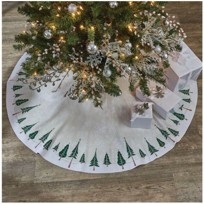 Tree Skirt - Winter Forest 60""